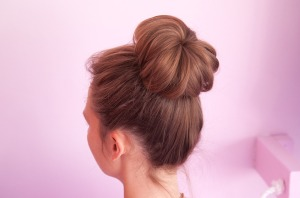 Sock bun by Beautylish