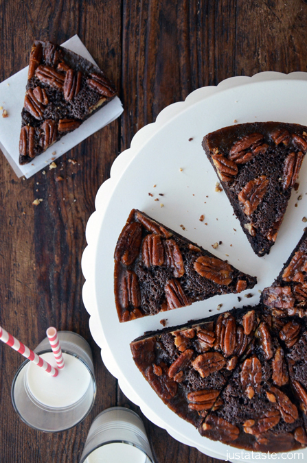 Pecan-Pie-Brownies